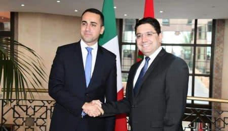 وزير الخارجية المغربي و الإيطالي
