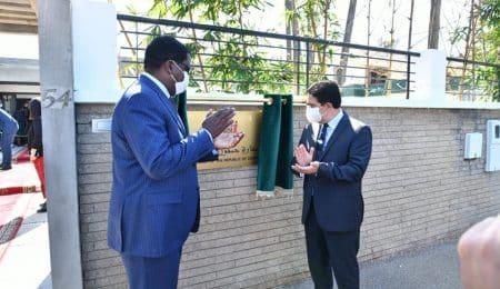 افتتاح سفارة زامبيا بالرباط