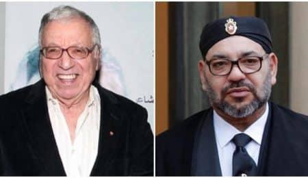 الملك محمد السادس وحمادي التونسي