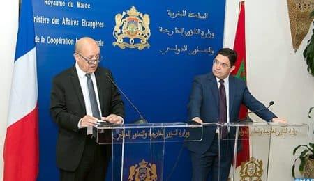 وزير الخارجية المغربي الفرنسي