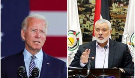 الرئيس الأمريكي لرئيس حماس