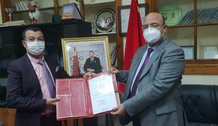 مولاي أحمد الكريمي ونور الدين سيقال