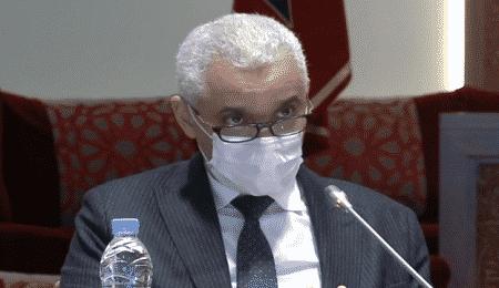وزير الصحة خالد أيت الطالب