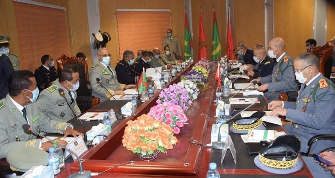الجنرال عبدالفتاح الوراق يرأس وفدا عسكريا نحو موريتانيا