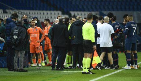 """العنصرية توقف مباراة """"سان جريمان"""" الفرنسي و""""باشاك شهير"""" التركي.. وأردوغان يندد"""