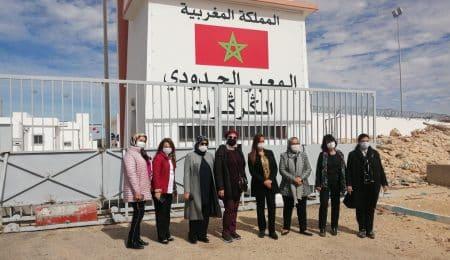 ممثلات عن المنظمات النسائية الحزبية يثمن من الكركرات مكتسبات المغرب