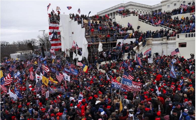 اقتحام مبنى الكونغرس