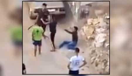 أمن طنجة يعتقل مبحوثا عنه ظهر في فيديو وهو يعتدي على شخص بالسلاح الأبيض