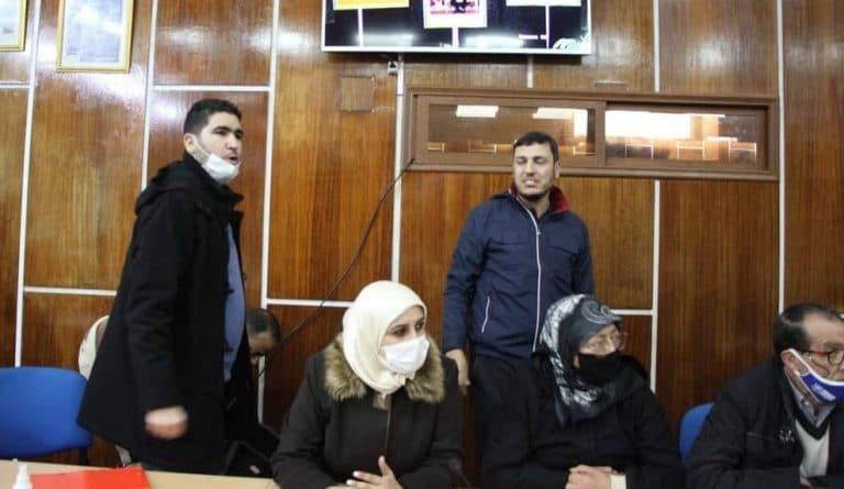 """فريق البيجيدي جماعة المحمدية يعتصم أمام مقر الأمن بعد تهديده بـ""""التصفية"""""""