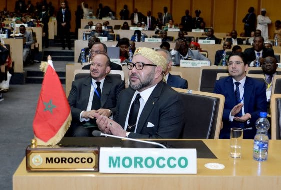 الملك محمد السادس الاتحاد الإفريقي