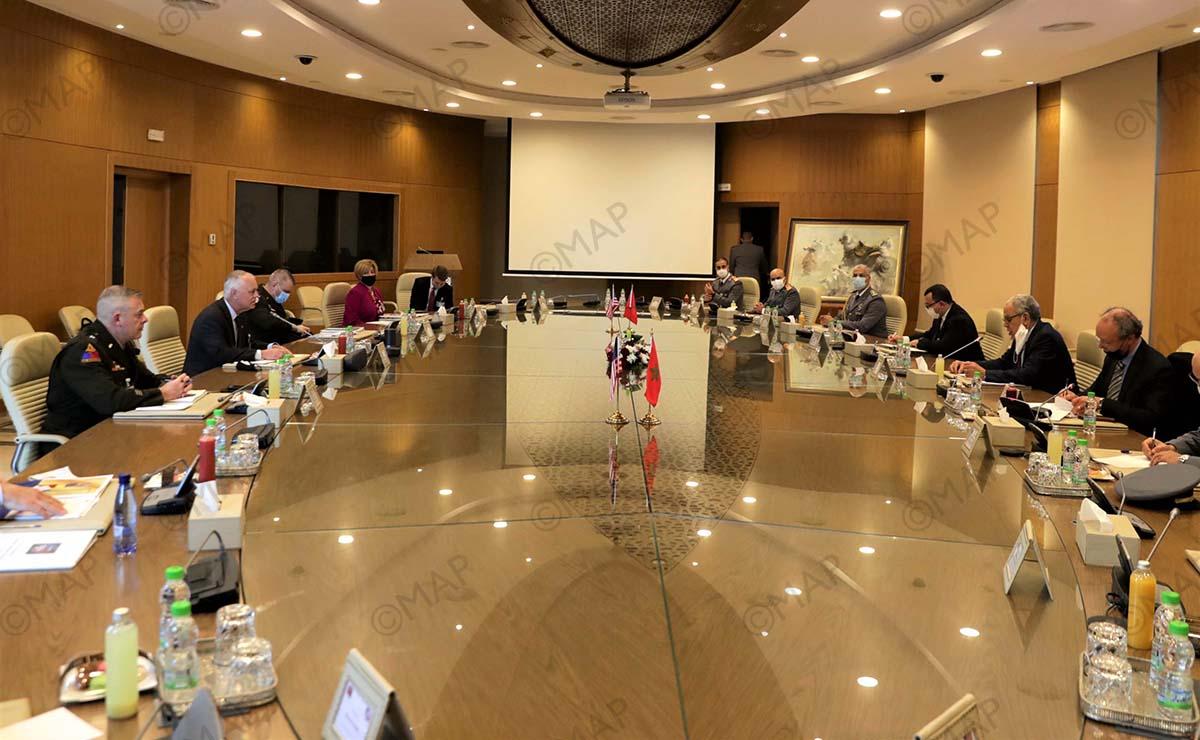 انعقاد اجتماع الجنة الاستشارية المغربية الأمريكية للدفاع