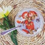 coconut chia pudding