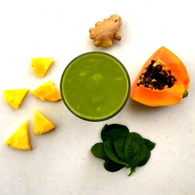 pineapple-papaya-smoothie