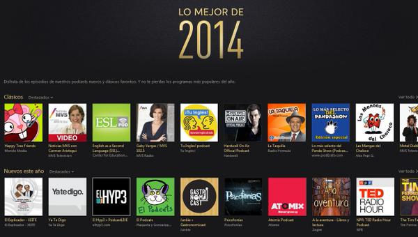 A la aventura - Podcasts favoritos iTunes 2014