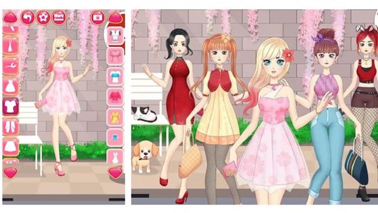 تلبيس أنمي 2020 بنات موضة المكياج واللبس متجر جوجل بلاي