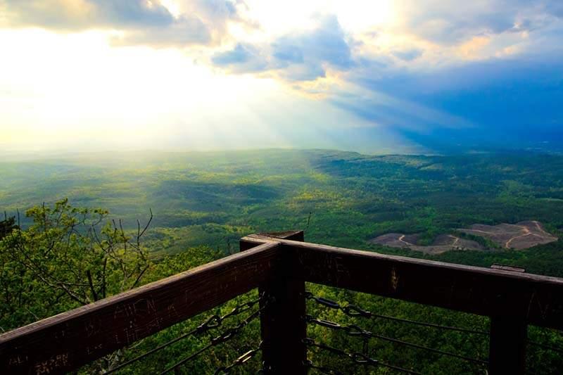 Cheaha State Park Bald Rock Trail Alabama Birding Trails