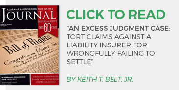 Tort Claims Against a Liability Insurer for Wrongfully Failing to Settle article