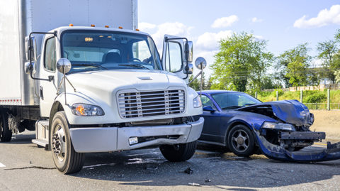 Types of truck driver errors that cause wrecks