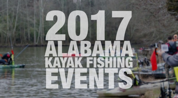 2017 Kayak Fishing Events in Alabama