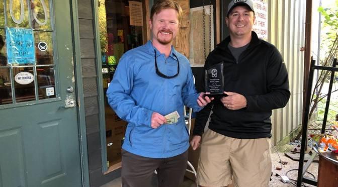 Lancy Coley wins Alabama Kayak Fishing Classic