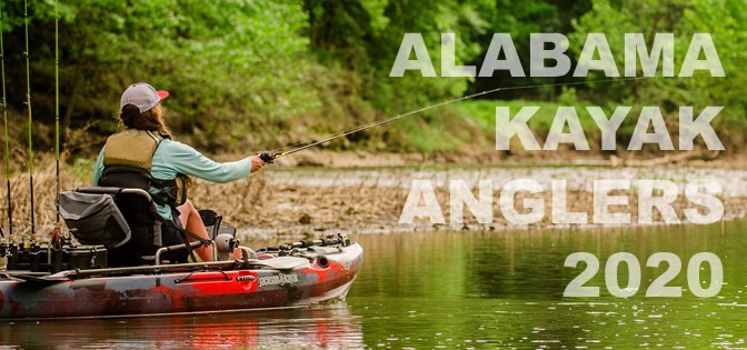 2020 Alabama Kayak Fishing Events List