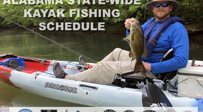 2021 ALABAMA KAYAK FISHING EVENTS LIST