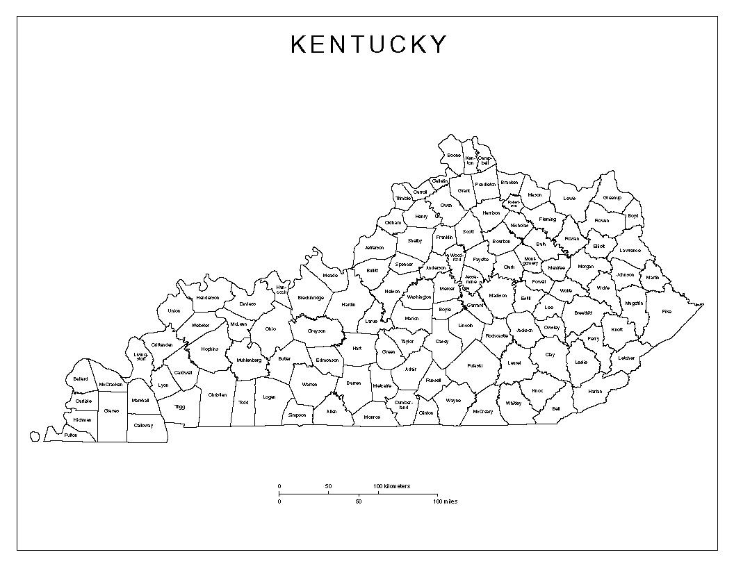 Maps Of Kentucky