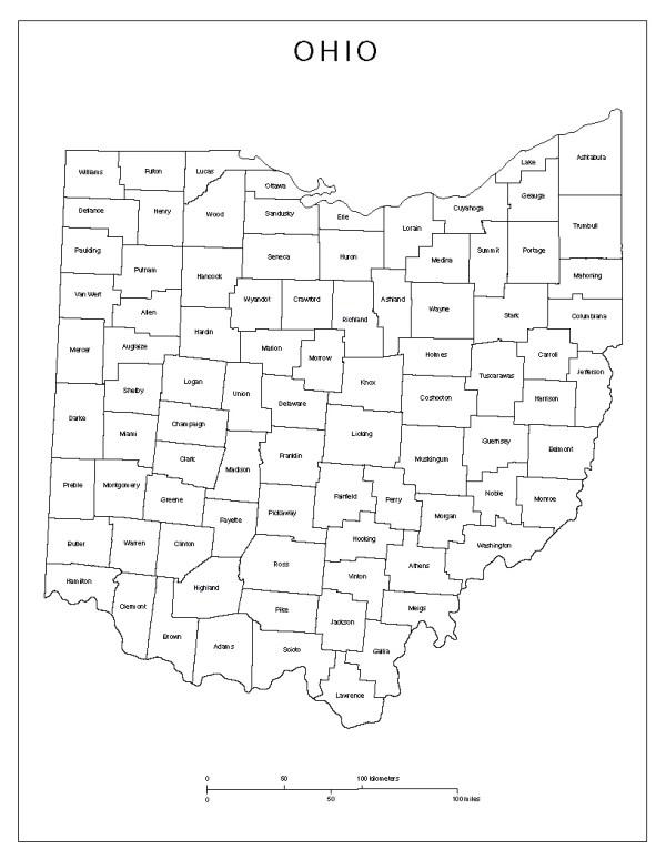 Maps of Ohio