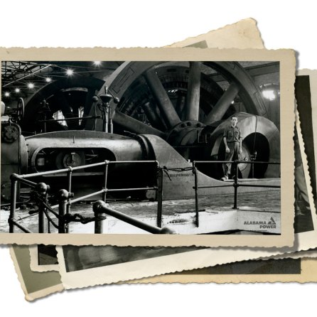 More historic photos of Powell Avenue Steam Plant. (file)