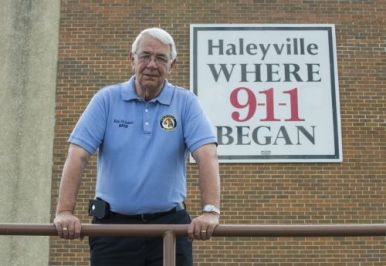 Haleyville, Al. Mayor Ken Sunseri. Photo courtesy of Bernard Troncale.