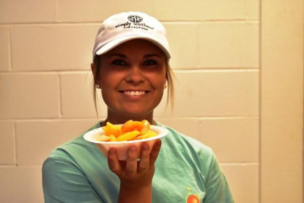 Peaches in all shapes and forms await you at Clanton's Peach Park. (Karim Shamsi-Basha/Alabama NewsCenter)