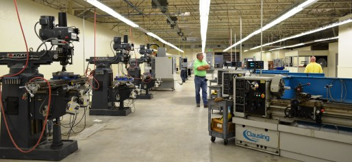 A look inside the AIDT Alabama Workforce Training Center in Birmingham. (Michael Tomberlin/Alabama NewsCenter)