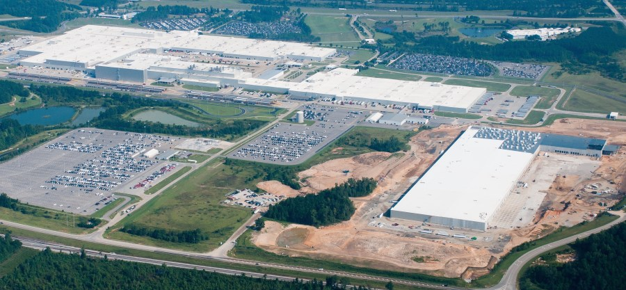 The Mercedes-Benz campus in Tuscaloosa County. (contributed)