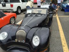 This car show was held for the first time at the Summit mall in Birmingham,