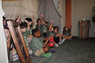 Children learn about nature at NaturePlex. (Billy Brown/Alabama NewsCenter)
