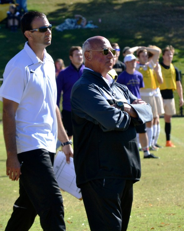 Preston Goldfarb is coaching his final season as Birmingham-Southern College men's soccer coach. Assistant Coach Greg Vinson has been named as his replacement. (Solomon Crenshaw Jr./Alabama NewsCenter)