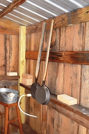 Equipment used to make the syrup of Crossover Ministry. (Michele Gerlach/Andalusia Star-News)