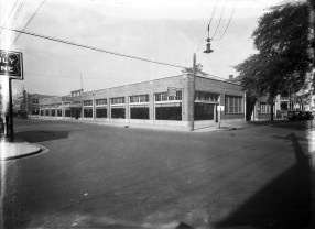 An archival photo provided by Joseph G. Kenny, president of Precision Engineering Inc., shows 400 St. Louis Street in downtown Mobile. The company is renovating the former car dealership as its new office building.
