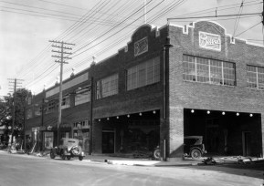 The Buick Building in downtown Mobile, Ala., is shown in this archival photo supplied by Rogers and Willard Inc. Builders.