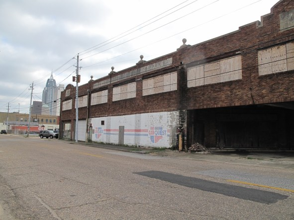 The Buick Building before the renovation, contributed by Mike Rogers.