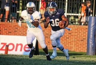 Running back Matt Breida leads Georgia Southern's ground attack. (contributed)
