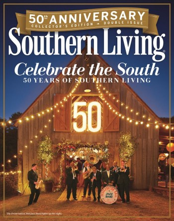 The 50th Anniversary edition of Southern Living features two different covers. (contributed)