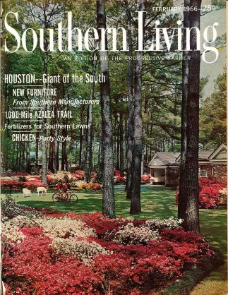 The first issue of Southern Living sold for 25 cents. (contributed)