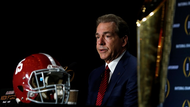 Is Nick Saban knocking on Bear Bryant's door?