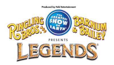 Ringling and Barnum logo.