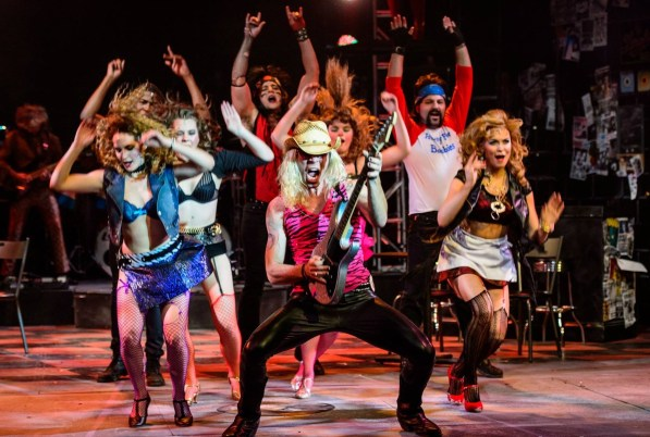 """Rock of Ages"" is being presented by the Virginia Samford Theatre. (contributed/Clark Scott)"