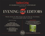 January 25 marks the first of several events celebrating Southern Living's 50th Anniversary.