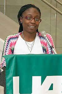 Jacquese Scott, a patient in the UAB Adult Sickle Cell Clinic