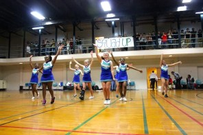 They've got spirit! Yes they do! ASMS students don't go to the school for athletics, but they do have varsity sports on campus.