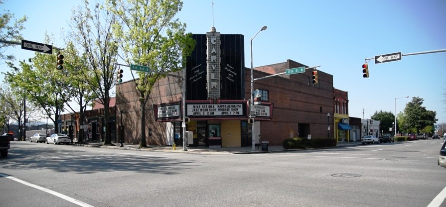 The historic Carver Theater houses the Alabama Jazz Hall of Fame and the Birmingham Black Radio Museum. (contributed)